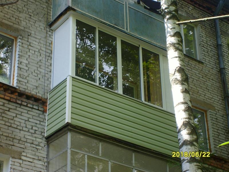 """Отделка балконов под ключ - городской портал """"твой городец"""" ."""